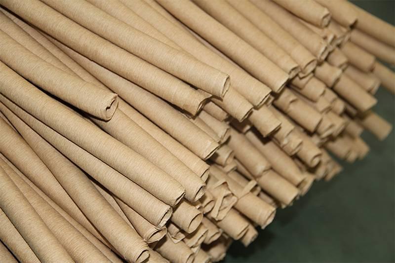 Crepe paper pipe