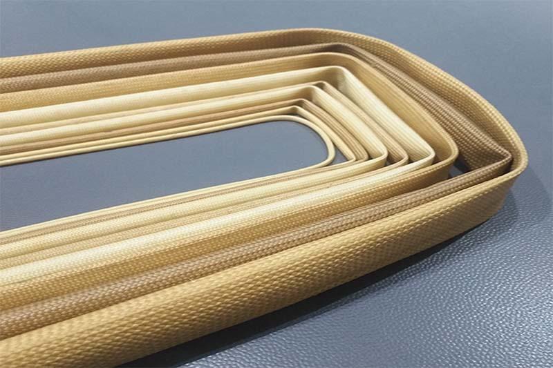 Silicone Rubber Fiberglass Insulating Sleeve