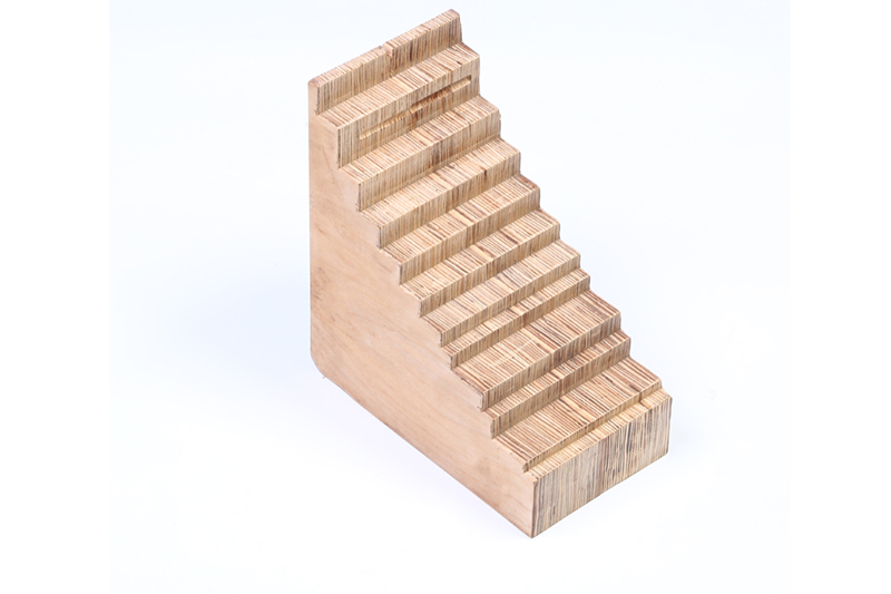 Laminated wood parts