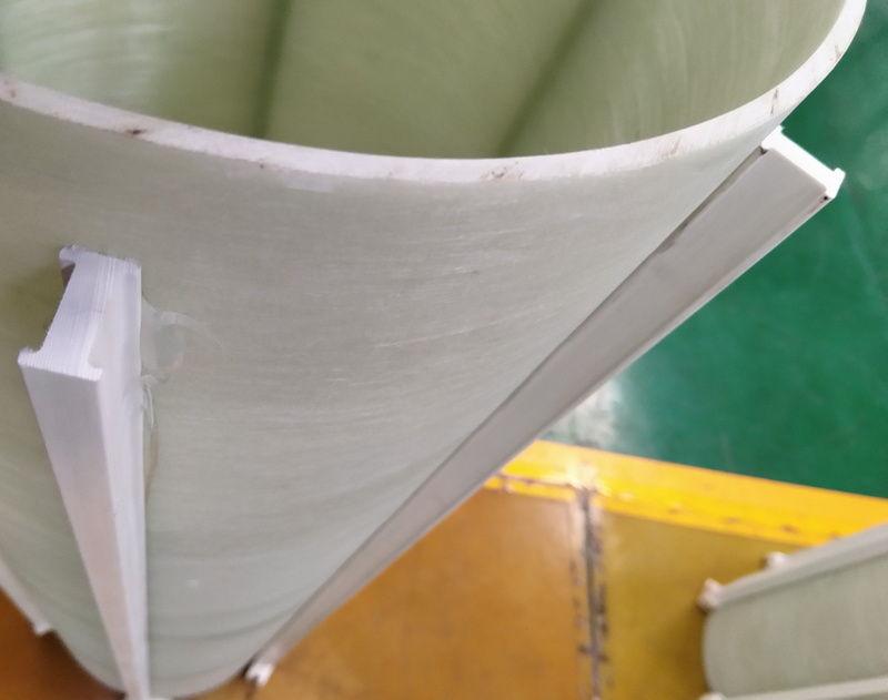 Polyester fiberglass airway stay