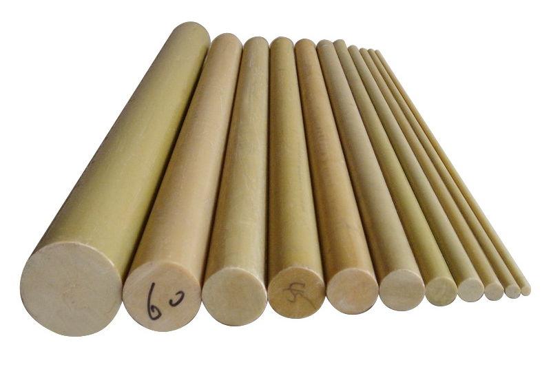 Epoxy laminated glass cloth rod