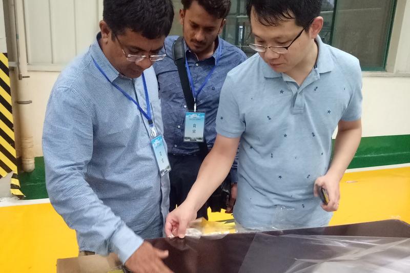 Indian customer to ztelec to buy yellow FR4