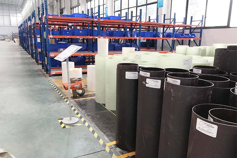 Diphenyl ehter laminated insulation tube